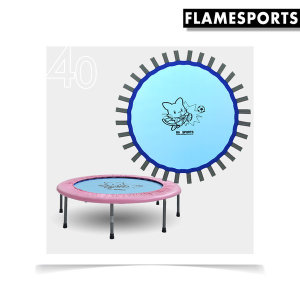 40인치 홈트레이닝 캐릭터 트램폴린 전용 매트 블루