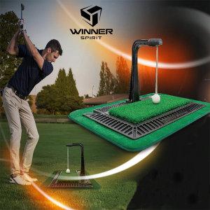 위너스피릿 리얼스윙300 골프 스윙연습기 실내연습