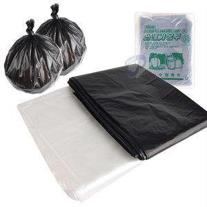 쓰레기봉투 투명 비닐봉지 분리수거 재활용봉투 김장