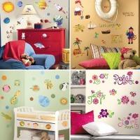 인테리어 스티커 데코 가정용 거실 아이방 셀프 벽면