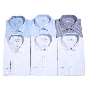 듀퐁-남성셔츠  듀퐁셔츠 긴소매 슬림핏 일반핏 9종택1