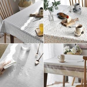 친환경 TPU 내추럴 방수 식탁보 테이블보 식탁커버