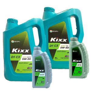 KIXX D1 C3 5W30 5W40 6L 디젤엔진오일