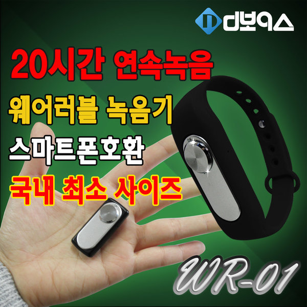 WR-01/8GB/초소형/보이스레코더/녹음기/소형 음성인식