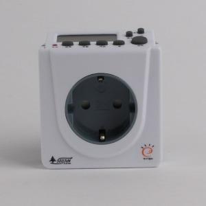 SJD-CP16 전자식 디지털 주간 콘센트 타이머 무소음