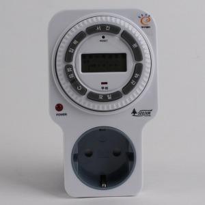SJD-C16 서준전기 전자식 디지털 콘센트 타이머 무소음