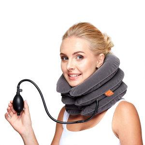 거북목방지 목 어깨 피로완화 공기압박 목밴드