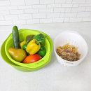 믹싱볼 3종세트/과일/야채/채반/쌀/세척/다용도용기