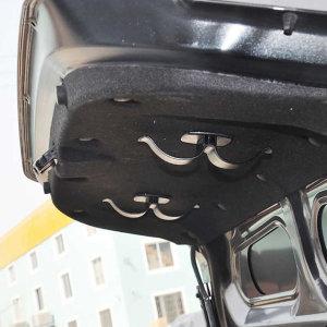 듀얼 2개 자동차 트렁크 우산 거치대 보관함