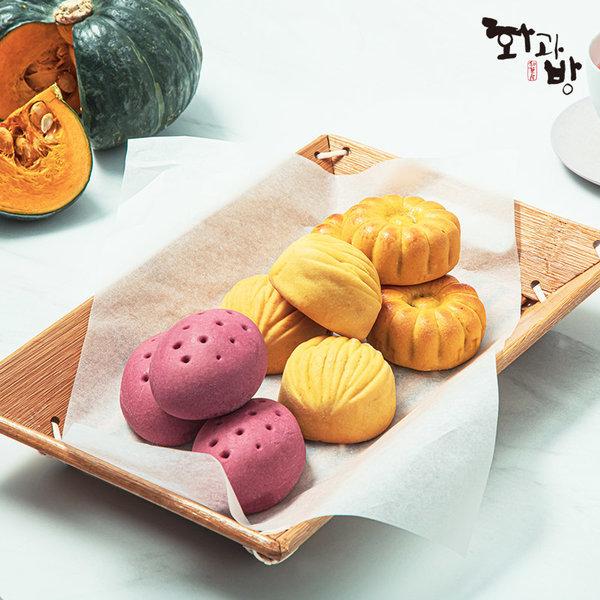 구움과자 고구마+꿀호박+꿀밤 (35gx5입)x3박스
