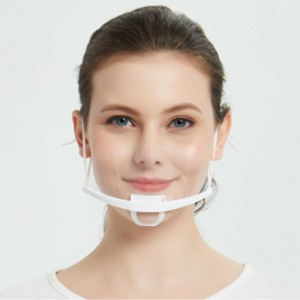 투명 위생 주방 급식 업소용 마스크