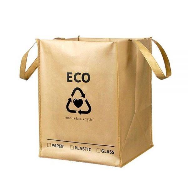 가정용 에코 재활용 분리수거함 x3개 홍보물 판촉물