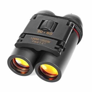 소형 쌍안경 CamKing 접이식 망원경 30x60 고배율