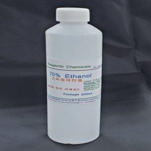 소독용알콜 소독용에탄올 70% 300ml 소독용에틸알콜