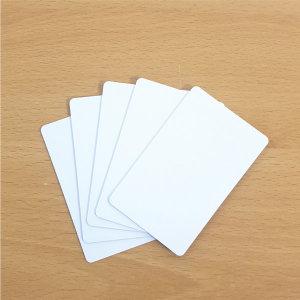 플라스틱 PVC 카드 (무지 빈 백 공 카드 용지)