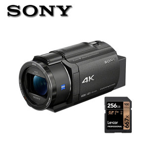 소니 FDR-AX43 4K지원256G/포켓융증정 4K 캠코더