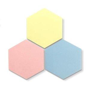 (아이스크림몰) 씽킹 포스트잇 (육각형 포스트잇)