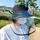 방역 모자 썬캡 마스크 벙거지 남성 여성 필터 일회용