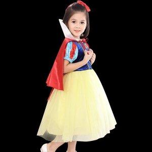 할로윈 아동 의류 백설공주 드레스 공연 무대의상