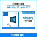 Windows 10 Home FPP 동봉 (USB)