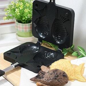 가스렌지 가정용 소형 카페 미니 붕어빵 팬 메이커