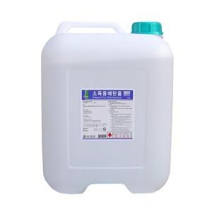 소독용 에탄올 18리터 알콜18L 83% 알코올