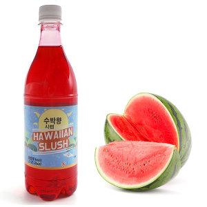 이안스 하와이안슬러시 수박향 5배농축 시럽 1kg