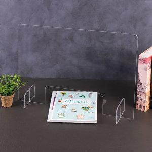 아크릴 투명 가림막 이동식 약국 민원 창구 테이블