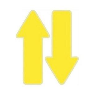 환타 바닥꾸미기 야광 화살표스티커(5매) 노랑