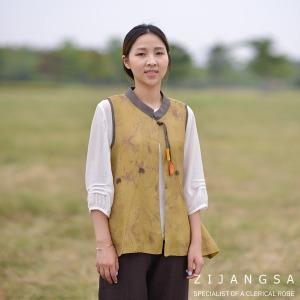 8075 인견튤립조끼 여자생활한복 여름개량한복 법복