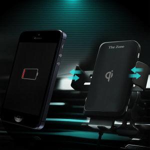 차량용 핸드폰 FOD 자동 무선충전 거치대 TZ-C100