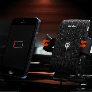 차량용 핸드폰 고속 무선충전 거치대 TZ-C150