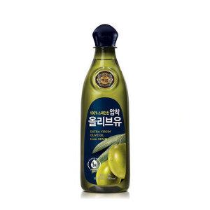 CJ백설 올리브유 0.9L 튀김 부침 기름 식용유