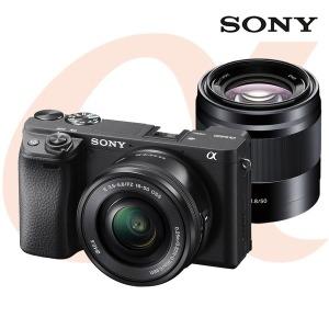 소니 알파 A6400 (16-50mm OSS+50mm F1.8)/공식대리점