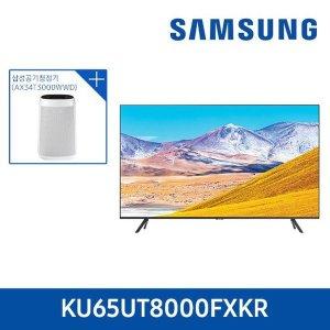 E 삼성 Crystal UHD 65인치 KU65UT8000FXKR + 공기청정기
