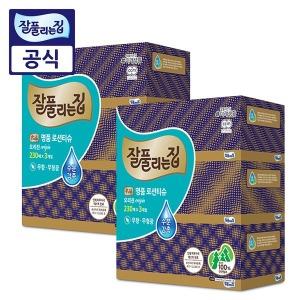 잘풀리는집 명품 로션티슈 230매 6개/ 각티슈 3입x2팩