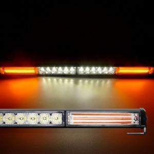 LED바라이트 4구4200 스위치 시거잭연결 자동차경광등