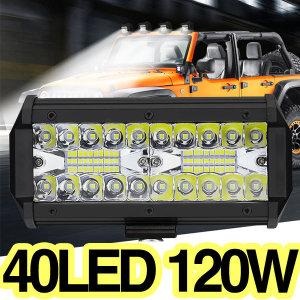 LED써치라이트120W 해루질 화물차 작업등집어등12-24V