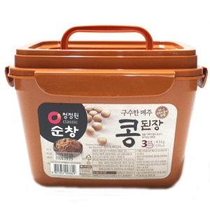 청정원 순창 구수한메주콩된장 4.5kg /무료배송