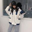여자 루즈핏 항공 점퍼 자켓 봄 아우터 캐주얼 iv73