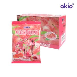오키오 복숭아 구미 젤리 100g 12개입