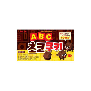 ABC초콜릿 ABC 초코쿠키 50g