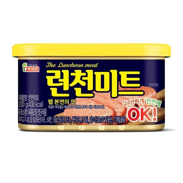 롯데 런천미트 200g x 10캔 / 로스팜 햄 통조림