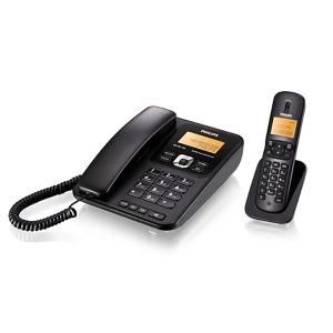 필립스 DCTG182 유무선전화기 발신자표시/집/사무실용