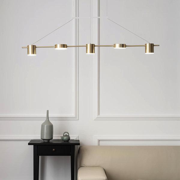 LED 플로페 5등 팬던트 30W 식탁조명 셀프인테리어