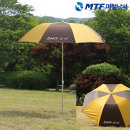 MTF 3단접이식 명품 황토 파라솔 45인치 낚시 파라솔