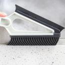 투인원 실리콘 틈새 청소브러쉬 물기제거 유리창 청소