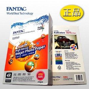 포토용지 4X6 100매 230g 고광택 FANTAC 사진출력용지