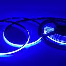 12V COB 슬림면발광 LED바 블루 10cm당 기본연결발송