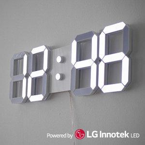 티메이드 3D 벽걸이 LED 벽시계